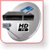 Satelitné komplety HD